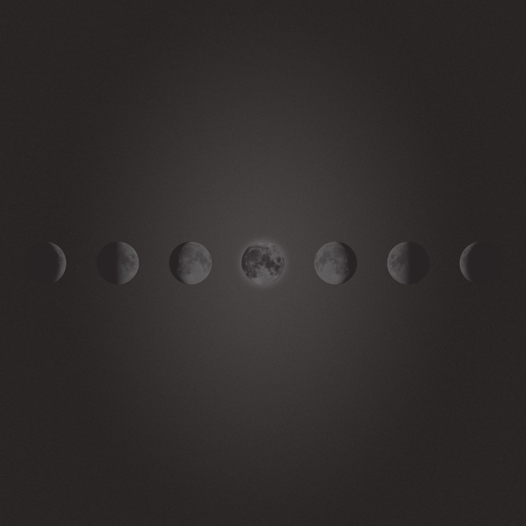 Freebie Phases Of The Moon Wallpaper