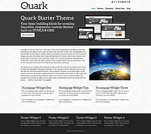 Quark Static Homepage