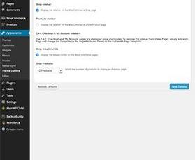 Quark ThemeOptions WooCommerce Settings