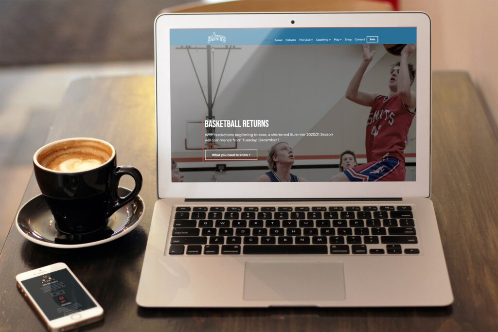 St Edmunds Basketball Club website